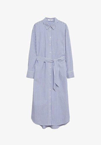 Shirt dress - azul