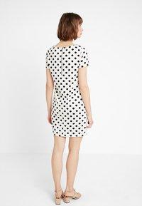 Vila - VITINNY - Shift dress - snow white/black - 2
