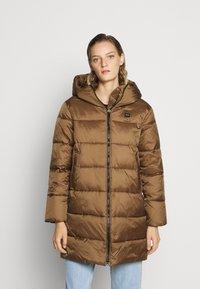 Blauer - IMPERMEABILE TRENCH LUNGHI OVATTA - Winter coat - dachshund - 0