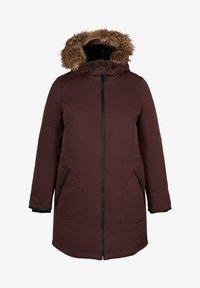 Zizzi - Down coat - dark bordeaux - 6