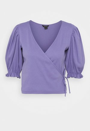 ULLA  - Print T-shirt - lilac purple medium dusty