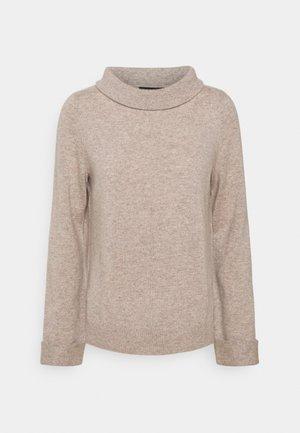 SWEATER - Stickad tröja - multibeige