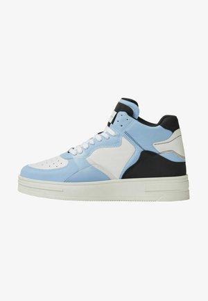 Sneakers hoog - light blue