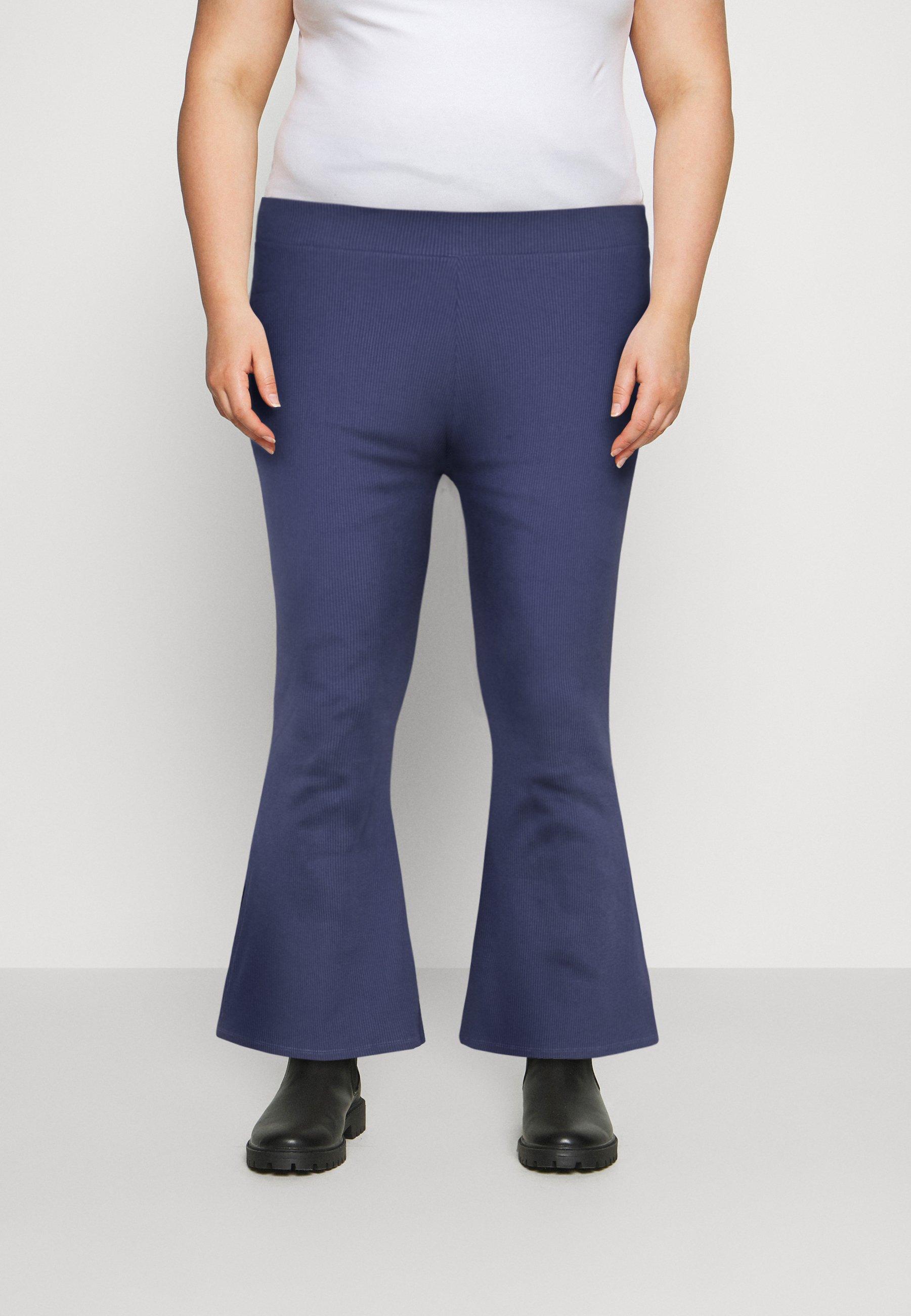 Femme HIGH WAIST FLARE LEGGINGS - Pantalon classique