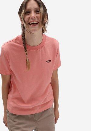 WM JUNIOR V BOXY - Basic T-shirt - coral