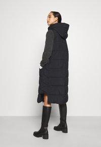 YAS - YASLIRA PADDED VEST - Waistcoat - black - 2