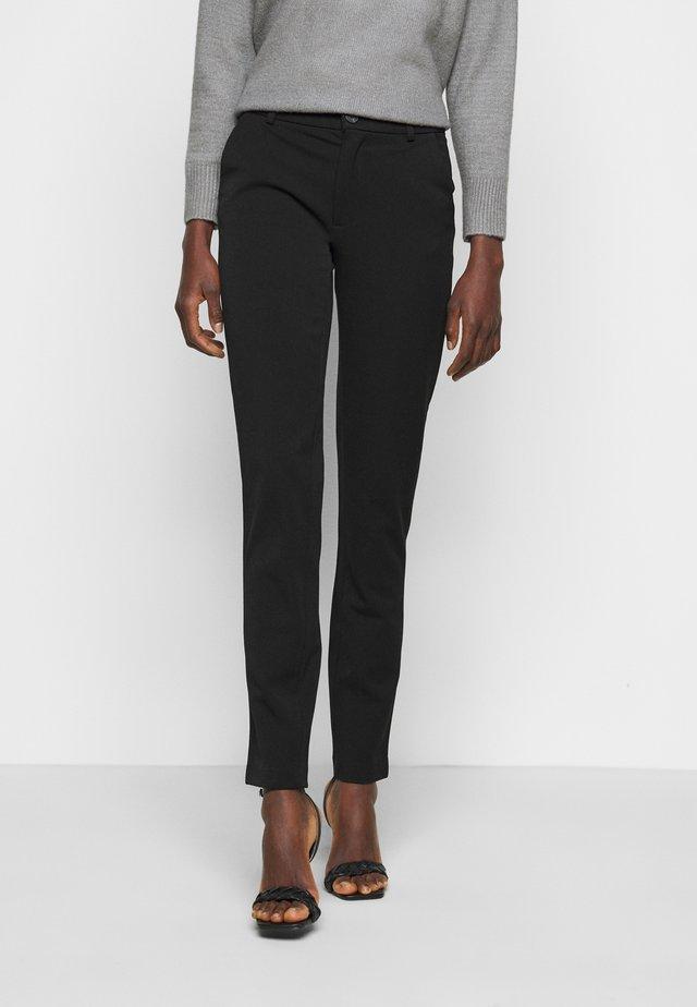 ONLEMILY VELMA PANT - Spodnie materiałowe - black