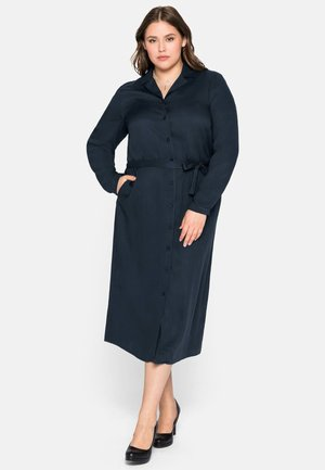 Shirt dress - nachtblau