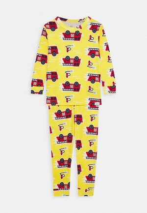 TODDLER BOY FIRETRCK SET - Pyjamas - canary yellow