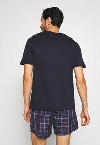 Pier One - SET - Pyjama - dark blue - 2