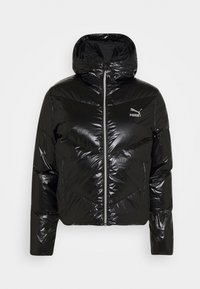 CLASSICS SHINE JACKET - Down jacket - black