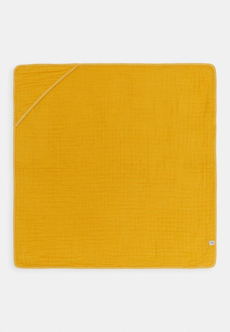 Lässig - MUSLIN HOODED TOWEL - Plážová osuška - yellow