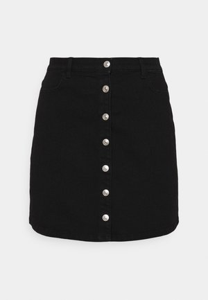 PCPAIGE SKIRT - Mini skirt - black