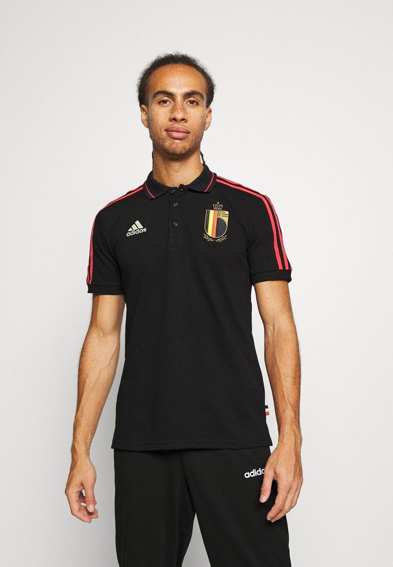 adidas Performance - RBFA BELGIEN  - Klubbkläder - black