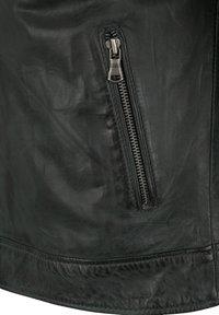 Capitano - IOWA - Leather jacket - anthracite - 3