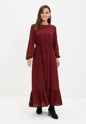 Maxi dress - burgundy
