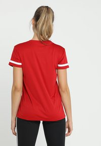 adidas Performance - TEAM 19 - Print T-shirt - power red/white - 2