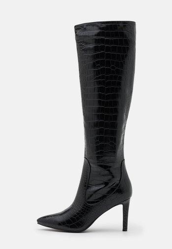 TRIBUTE - Laarzen met hoge hak - black