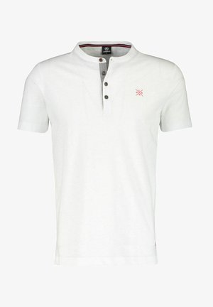 SERAFINO SLUB - Print T-shirt - white