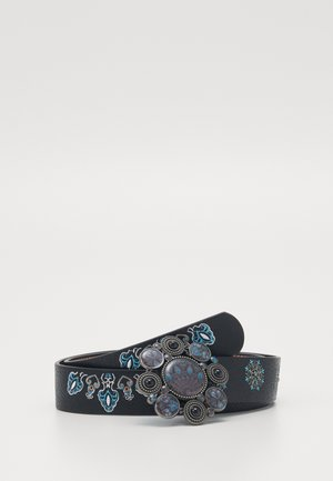 BELT DEVA REVERSIBLE - Pasek - black
