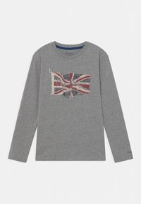 Pepe Jeans - FLAG LOGO JR - Long sleeved top - grey marl - 0