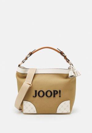 SONO MINA HOBO - Handbag - camel