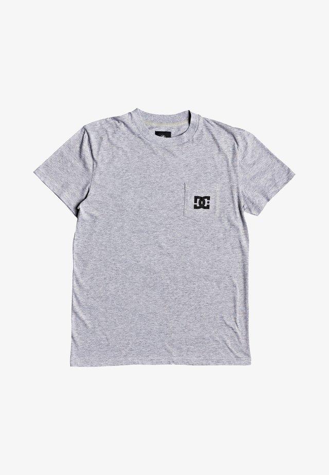 T-shirt basique - heather grey