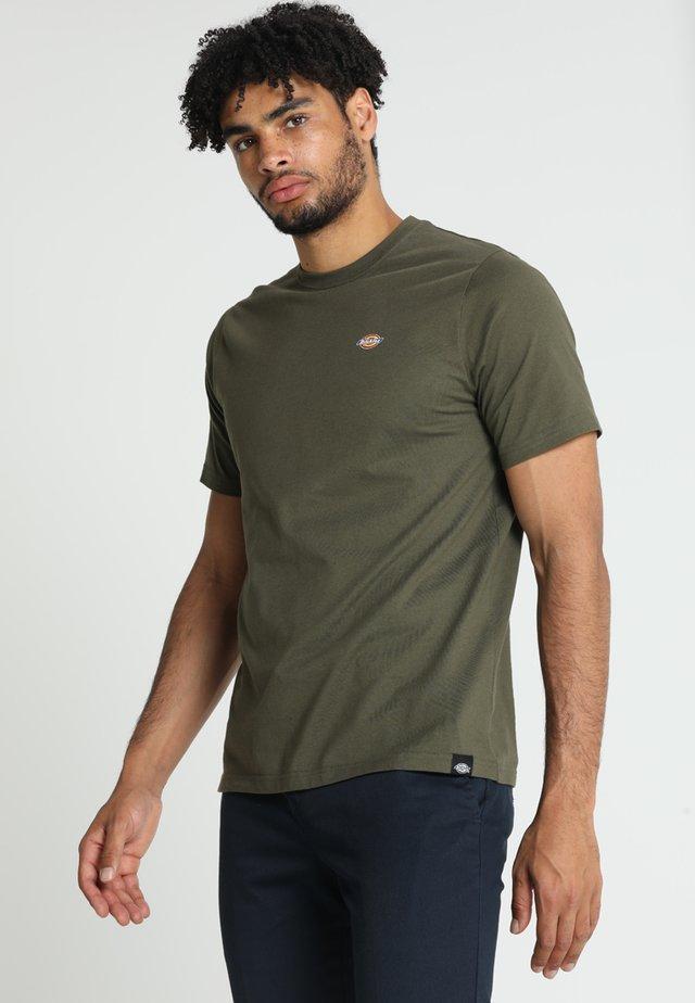 STOCKDALE - Basic T-shirt - dark olive