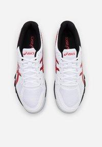 ASICS - GEL BLADE 7 - Zapatillas de tenis para todas las superficies - white/classic red - 3