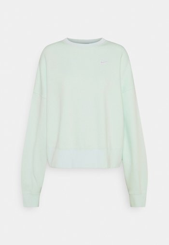 CREW TREND - Sweatshirt - barely green/white