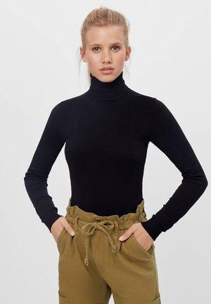 ROLLKRAGEN - Sweter - black