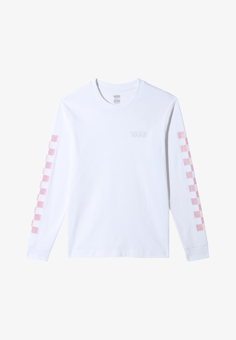 Vans - Bluzka z długim rękawem - white