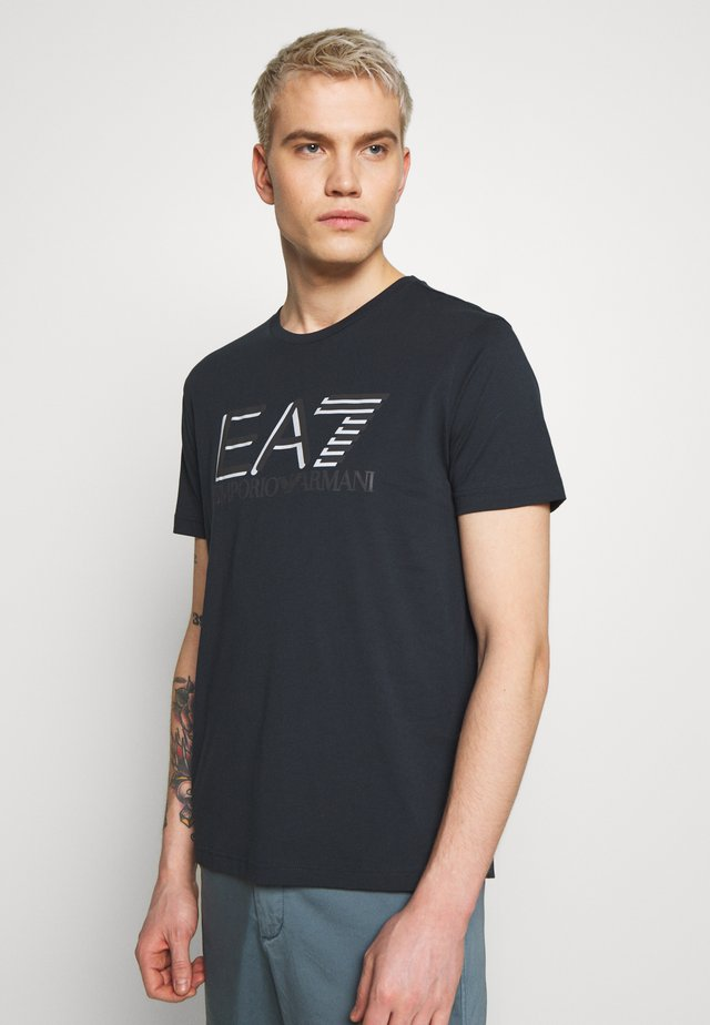 T-shirt imprimé - blu notte