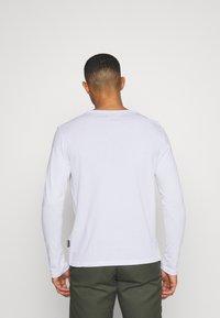 YOURTURN - UNISEX - Bluzka z długim rękawem - white - 2