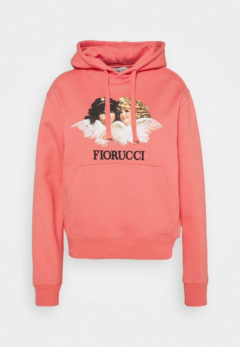 Fiorucci - VINTAGE ANGELS HOODIE BRIGHT PINK - Felpa con cappuccio - bright pink