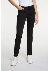 Oui - Slim fit jeans - black - 0
