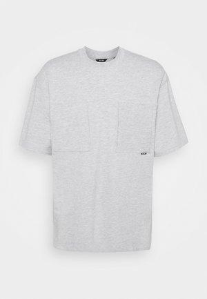 ONSASHER LIFE TEE - T-shirt basique - light grey