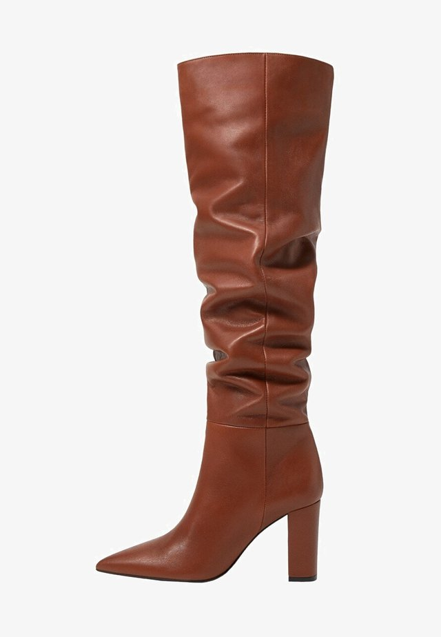ROMA - Støvler - medium brown