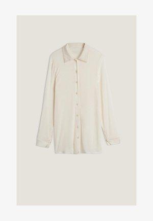 Button-down blouse - vaniglia