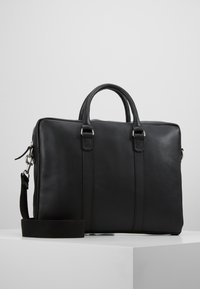 Pier One - LEATHER - Briefcase - black - 0