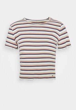 LETTUCE TEE - Print T-shirt - white