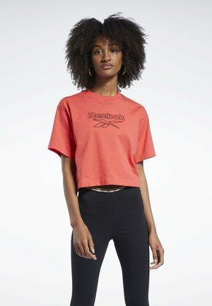 LOGO - Print T-shirt - pink