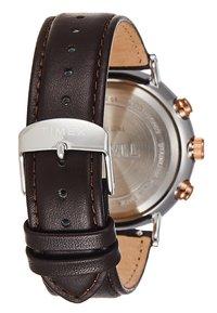 Timex - FAIRFIELD CHRONOGRAPH SUPERNOVA 41 mm - Chronograph watch - dark brown/black - 2