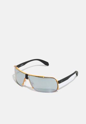 UNISEX - Sunglasses - matte orange/smoke mirror
