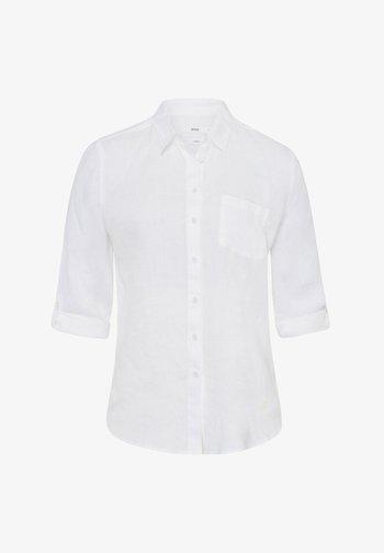STYLE VIOLA - Button-down blouse - white