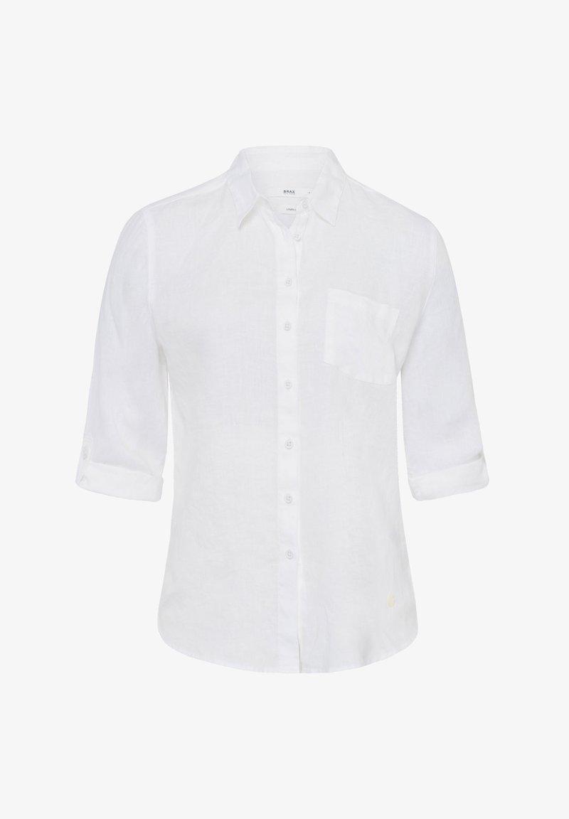 BRAX - STYLE VIOLA - Button-down blouse - white