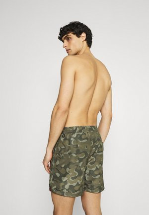 JJIBALI TAPE - Swimming shorts - olive night