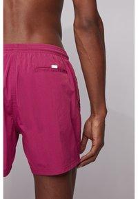 BOSS - OCTOPUS - Swimming shorts - dark purple - 2