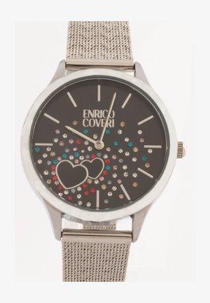 CRYSTAL - Horloge - silver nero