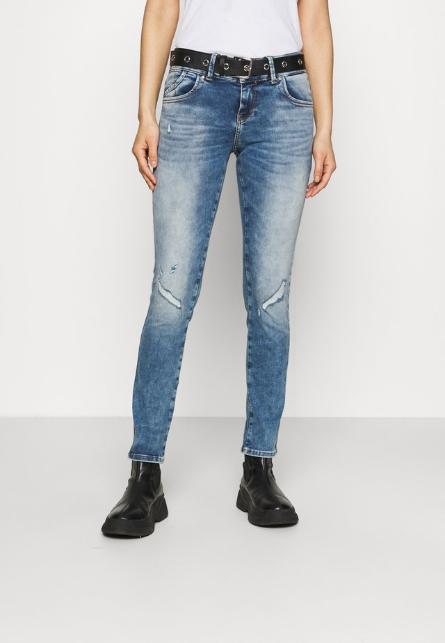 Slim fit jeans - earth blue wash